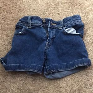 Faded Glory Youth Girls Size 7 Jean Shorts
